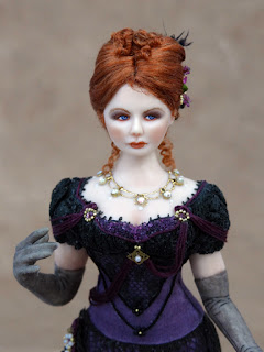 Chantelle Miniature Doll Front View Close Up