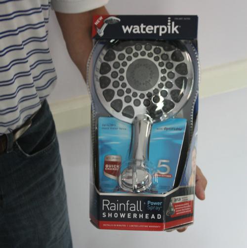 how to take apart a waterpik shower head