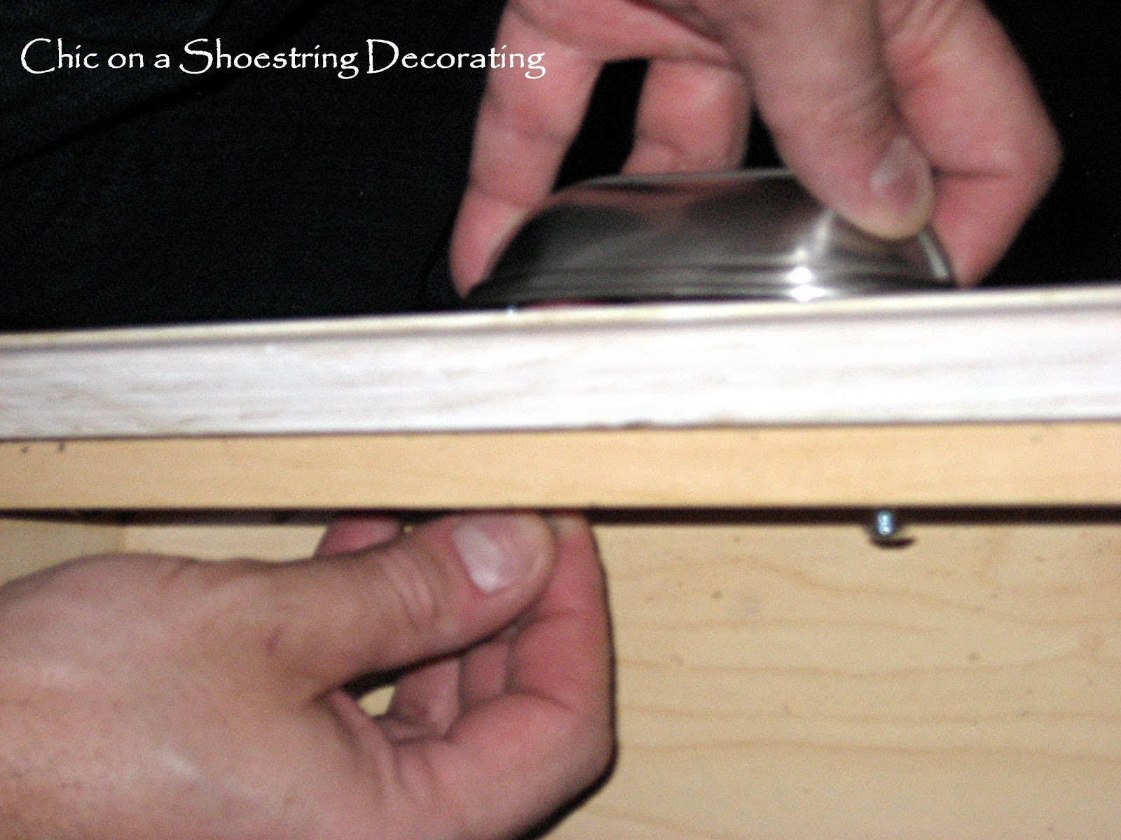 chic on a shoestring decorating how to change your kitchen chic on a shoestring decorating how to change your kitchen cabinet knobs or handles