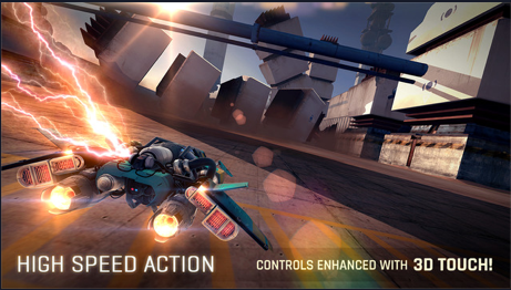 Breakneck is a thrilling action game where you speed through hostile world and collecting supplies.