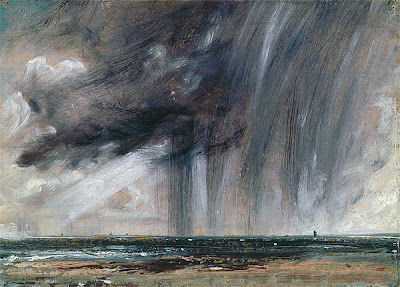 John CONSTABLE Rainstorm over the sea