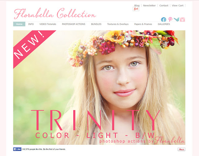 Florabella Collection - 10 Sites to Get  Useful Photoshop Actions
