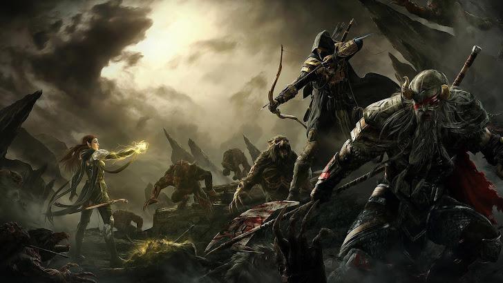 Elder Scrolls Online Battle