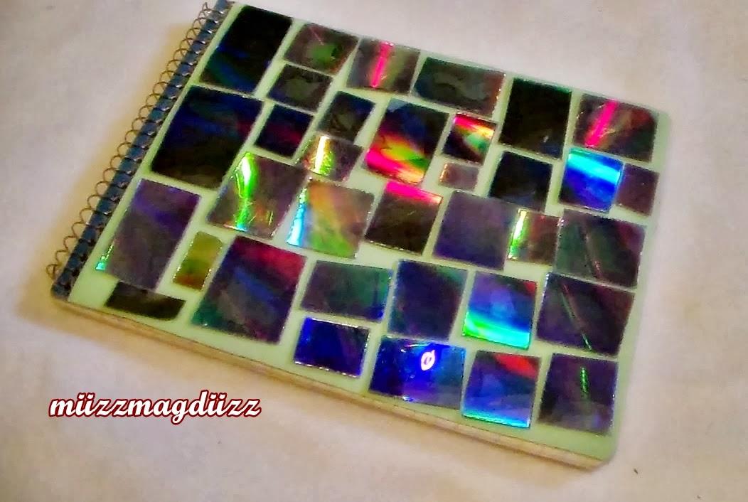 Miizzmagdiizz1 como decorar tus cuadernos reciclaje - Como decorar cuadernos ...