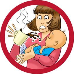 طريقة التعامل مع حروق الأطفال V02
