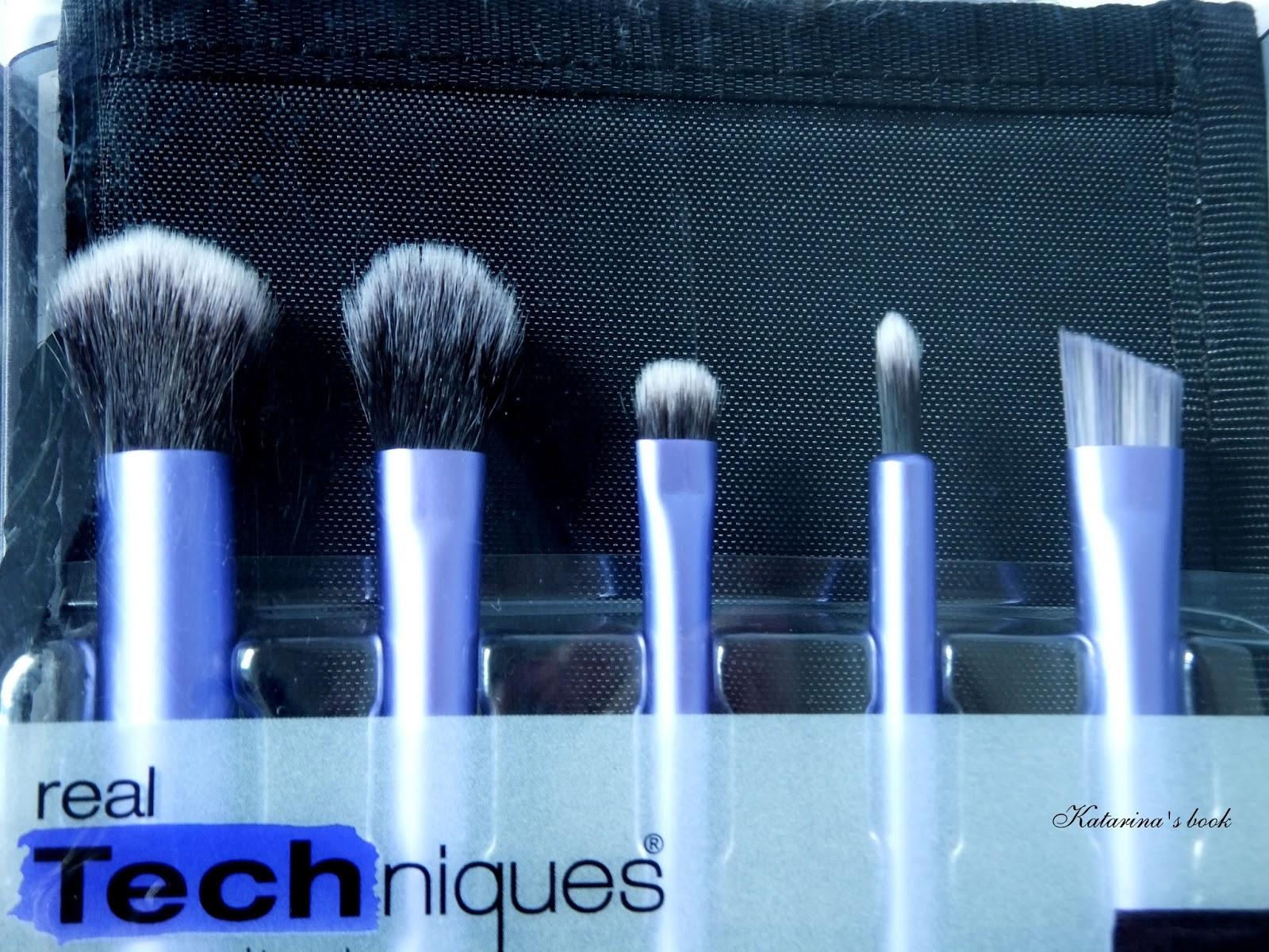 кисти для макияжа, кисти, реал техникс, риал техникс