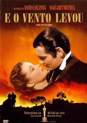 Filme E o Vento Levou Dublado AVI DVDRip