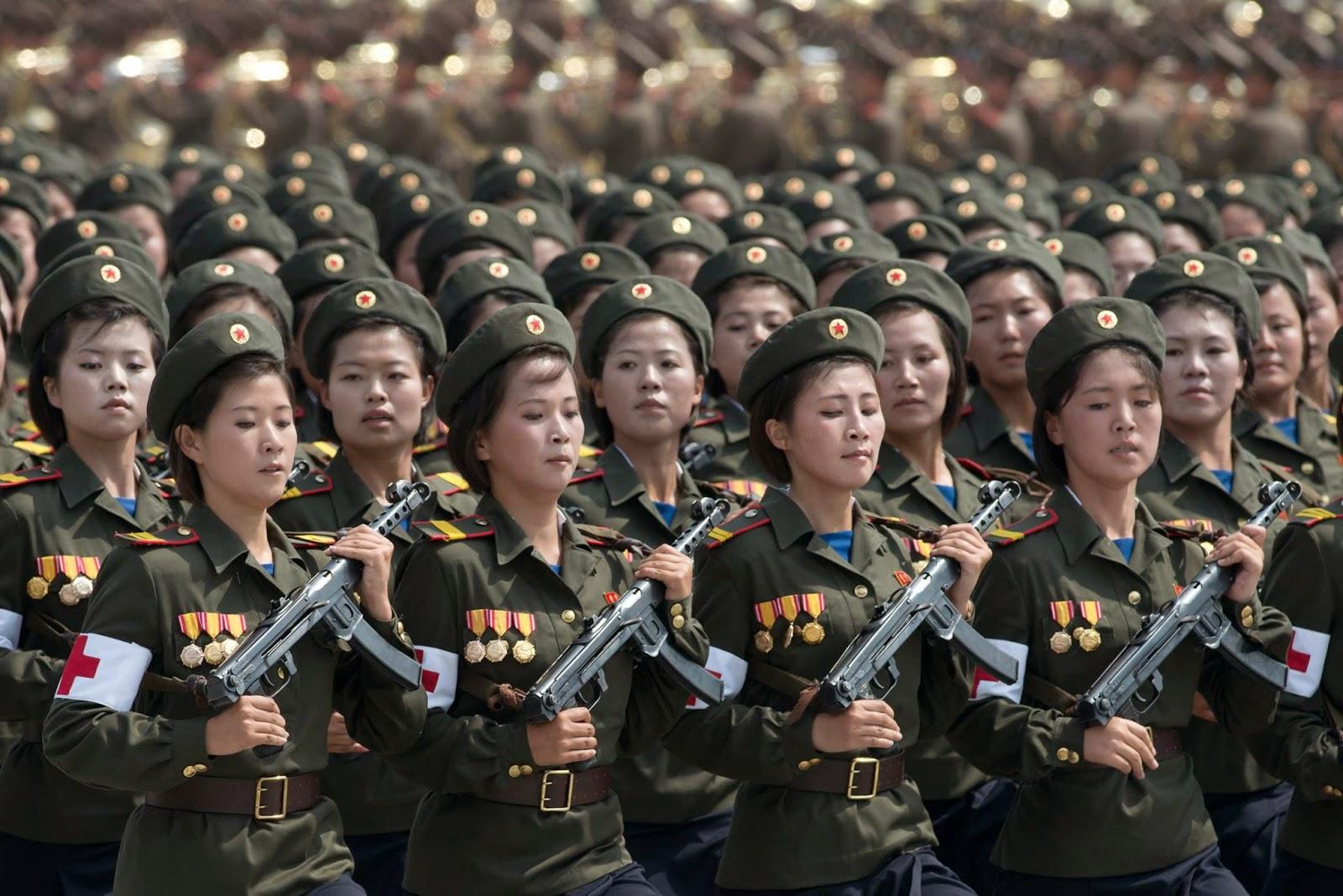 Ejercito Femenino de Corea del Norte
