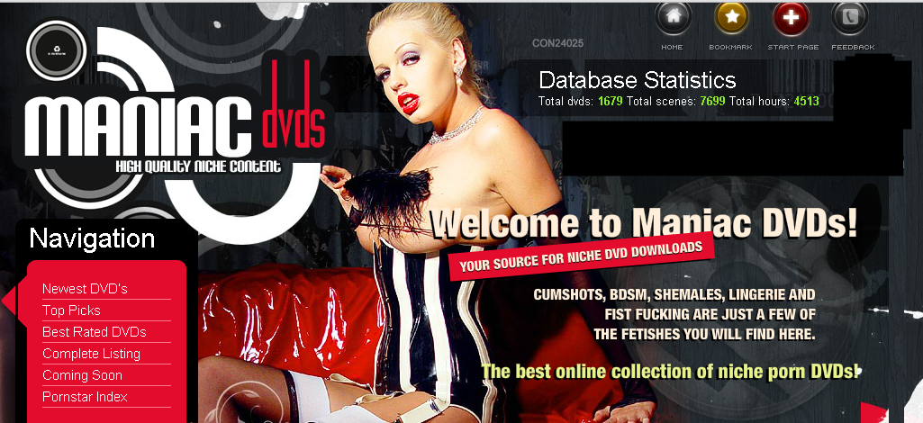 Free Porn Passwords MANIACDVDs 31st August 2015
