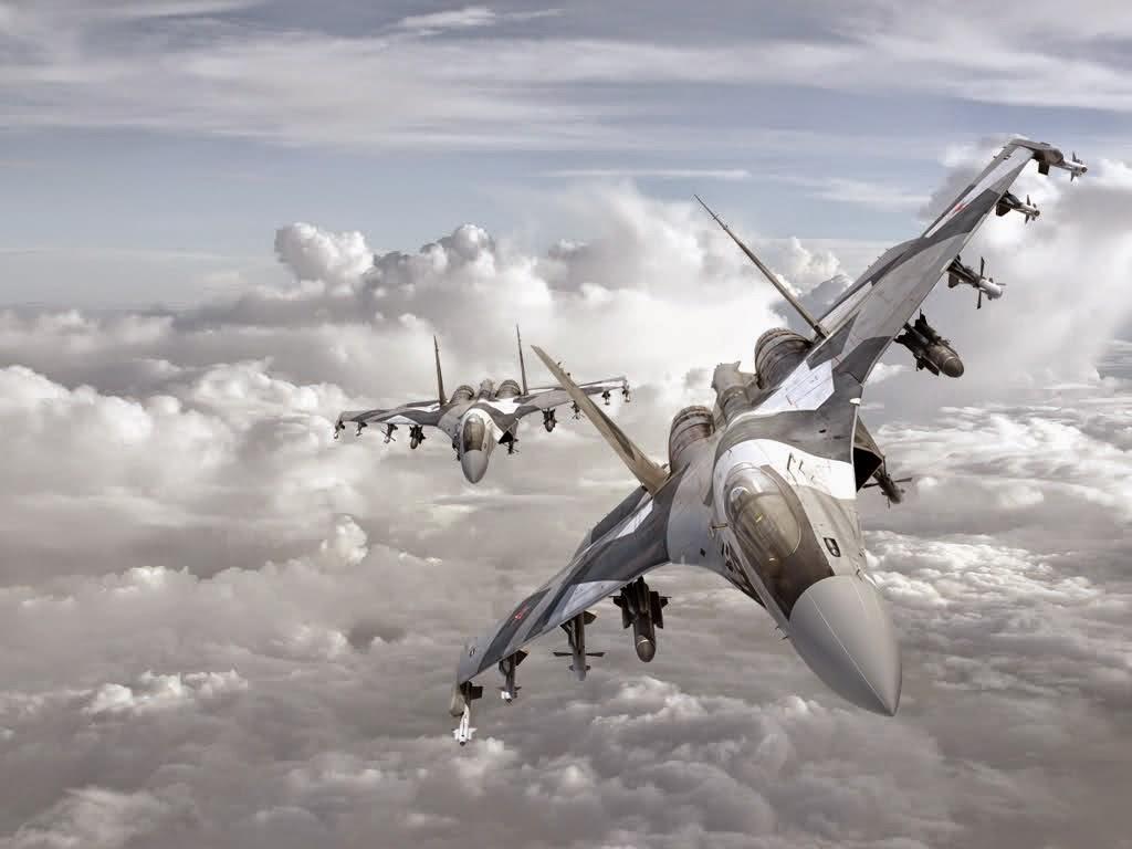 Pesawat Tempur Sukhoi Su 35 Flanker