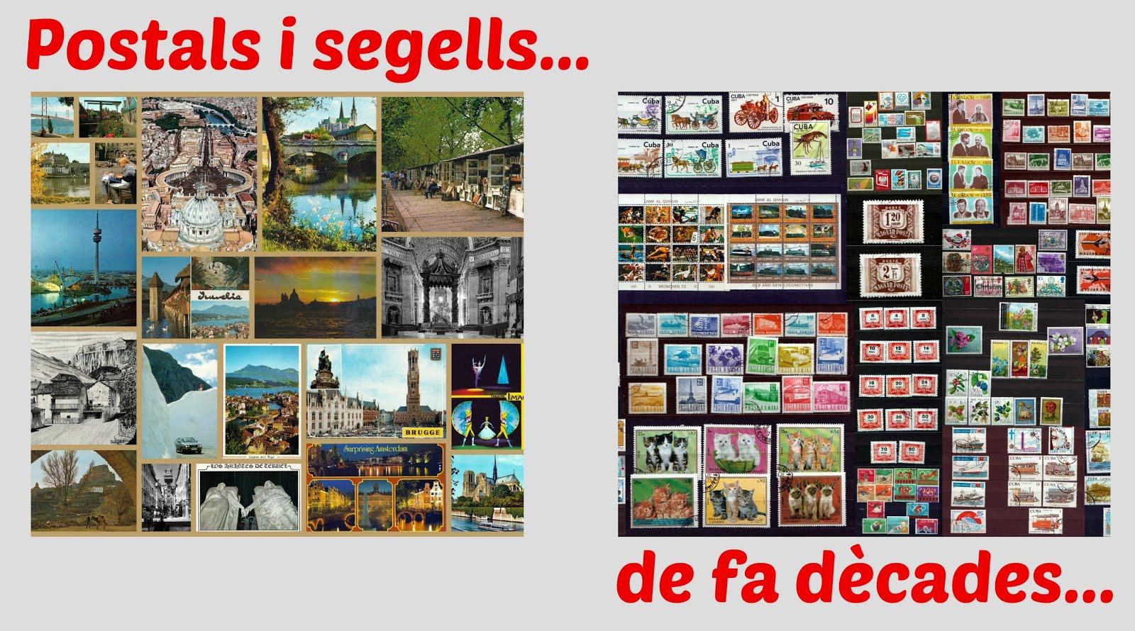 PÀGINA: M'agradava COL.LECCIONAR segells i postals...per enmagatzemar somnis.