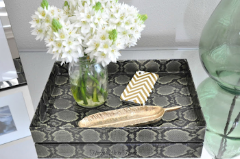 Snakeskin Duct Tape Tray