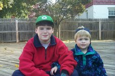 Photo of Sean and Patrick Fanning, Autistic Sons of Jack and Maureen Fanning
