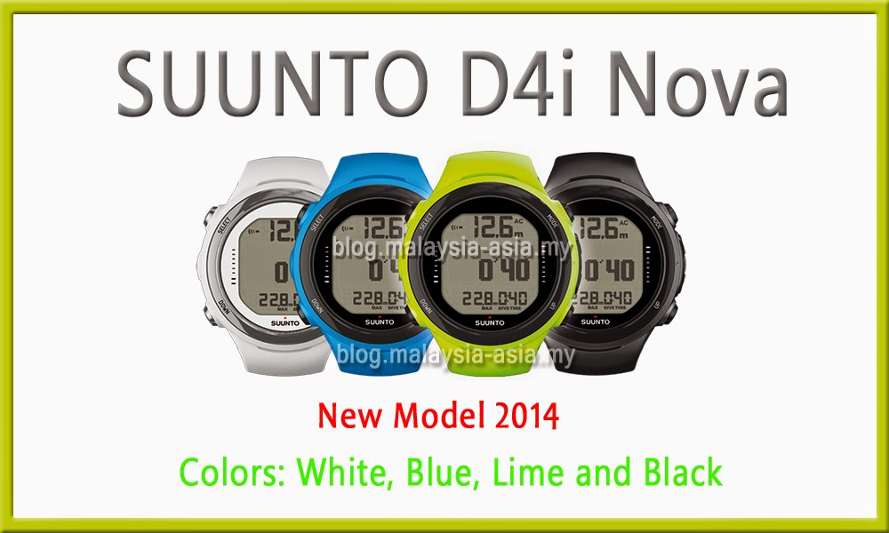 Suunto D4i Nova Watch in Malaysia