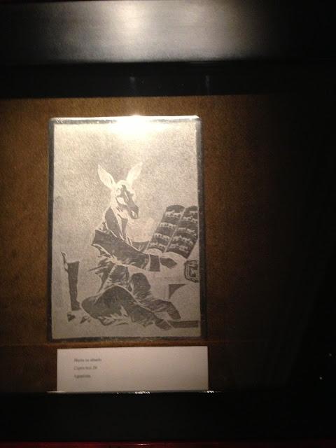 Goya original prints (Academia San Fernando)