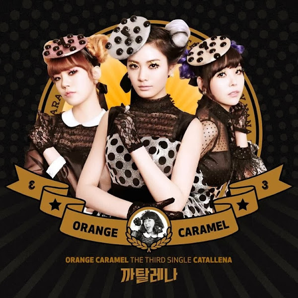 Orange Caremel Catallena Cover
