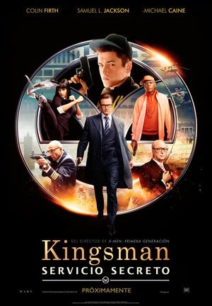 Poster Kingsman: The Secret Service 2014