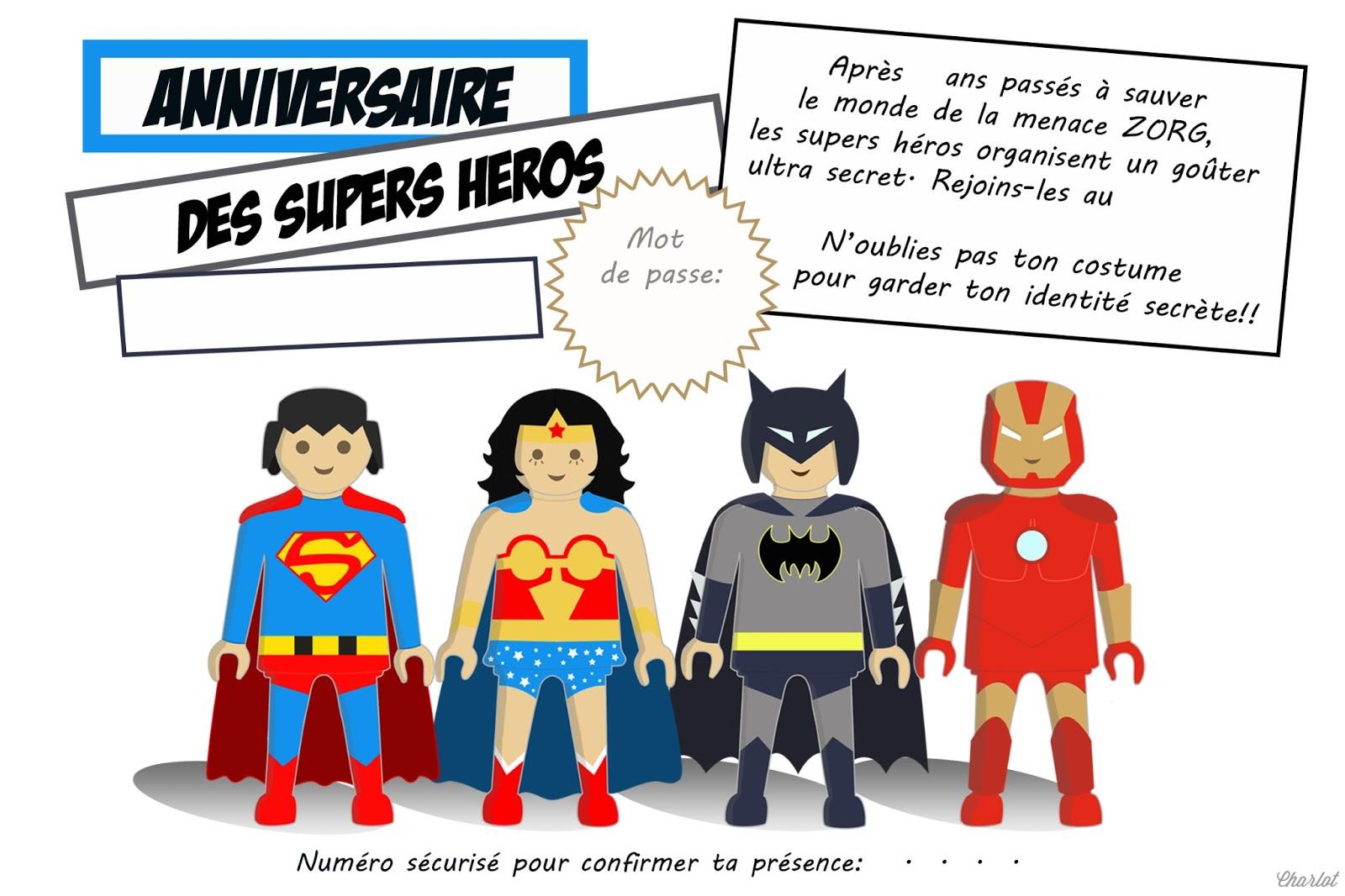 Carte D Anniversaire Gratuite Super Heros Tasyafiolarara Site