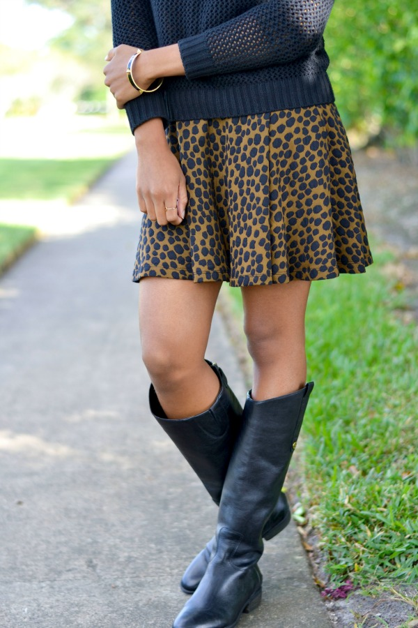 Fall Outfit Ideas | Layering with a Dress