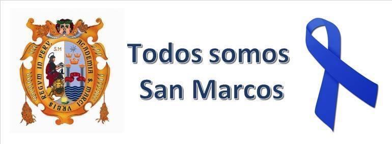 Todos por somos San Marcos, por su refundación ahora.
