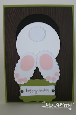 Bunny Tails Card Kit makes 3 Cards