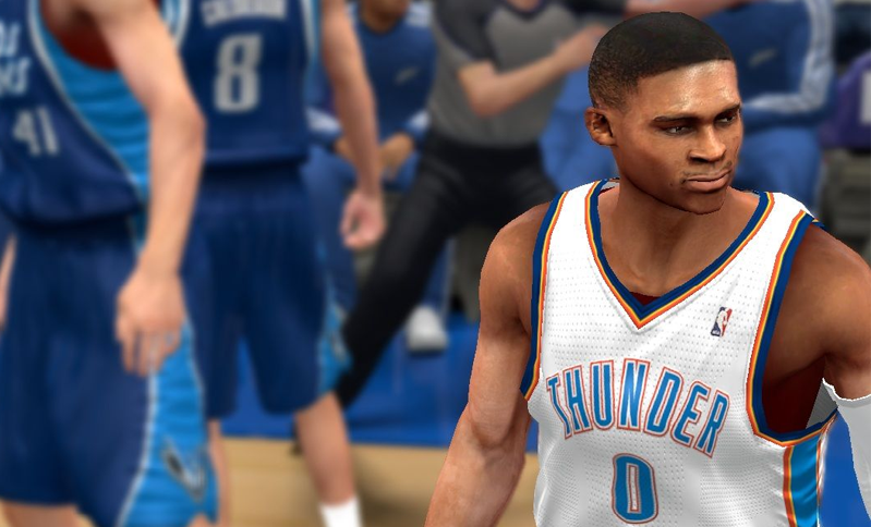 Russell Westbrook NBA 2K Patch