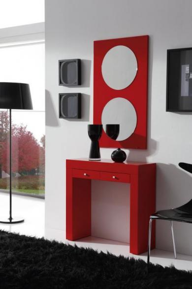 Muebles para entradas peque as recibidores peque os for Muebles minimalistas para casas pequenas