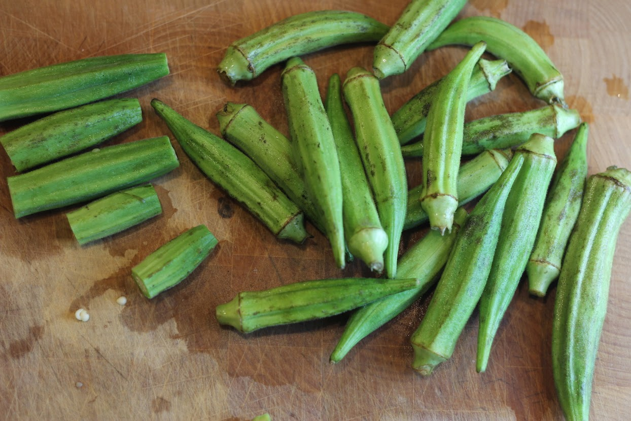 okra with Lowel Ego (c)nwafoodie