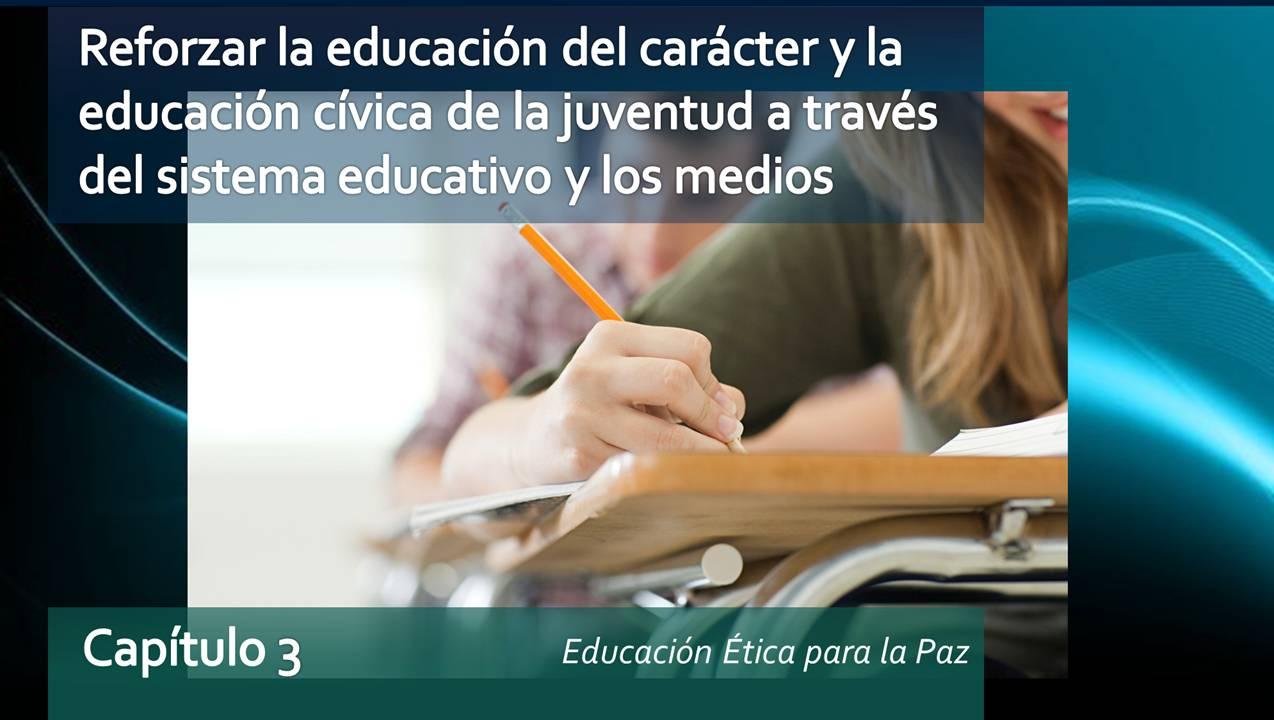 Educación del Carácter y Cívica de la Juventud