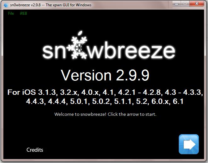 Download Sn0wbreeze 2.9.9