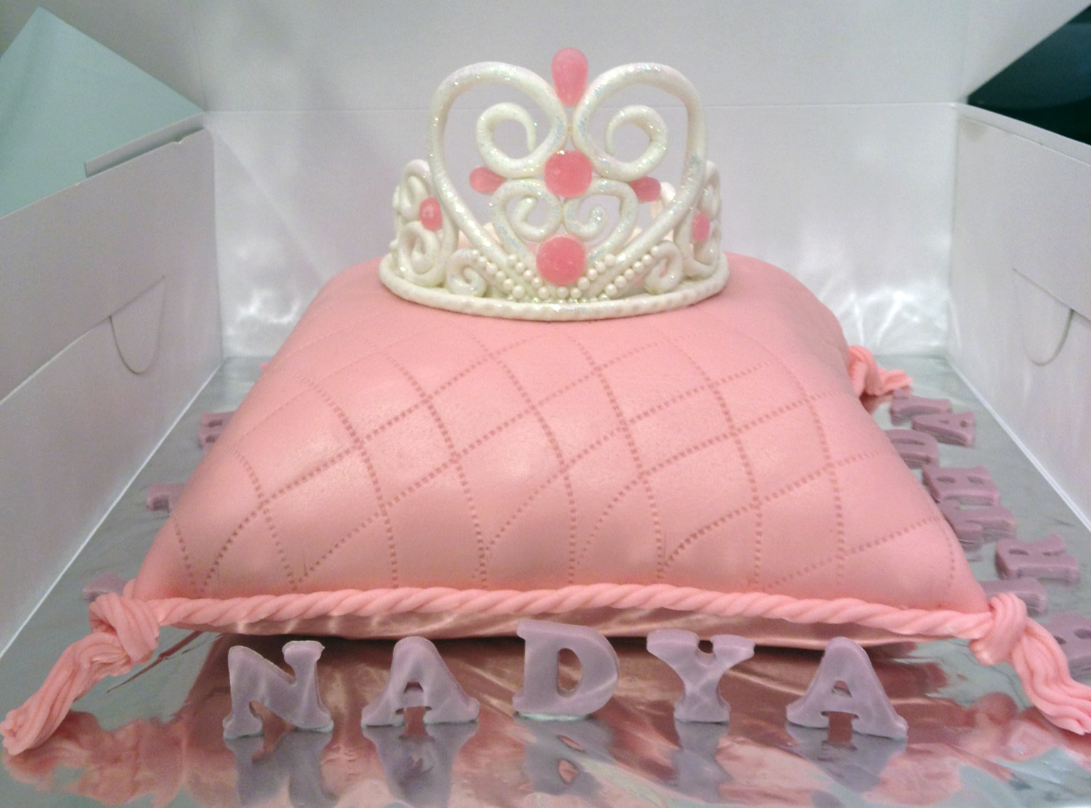 Princess Pillow Cake Images : Joyous Cake Company: Princess Pillow cake with edible ...