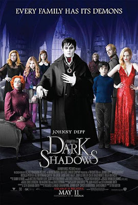 Dark Shadows 2012 film movie poster