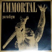 BALTIMORE GRAB BAG: Immortal- Paradigm 12\'\' & Mission- When Thunder Comes LP