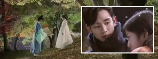 Min Joon receives a scroll from a girl in the Joseon era, and he sees her again in the present.