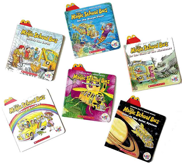 McDonald's Happy Meal The Magic School Bus Books