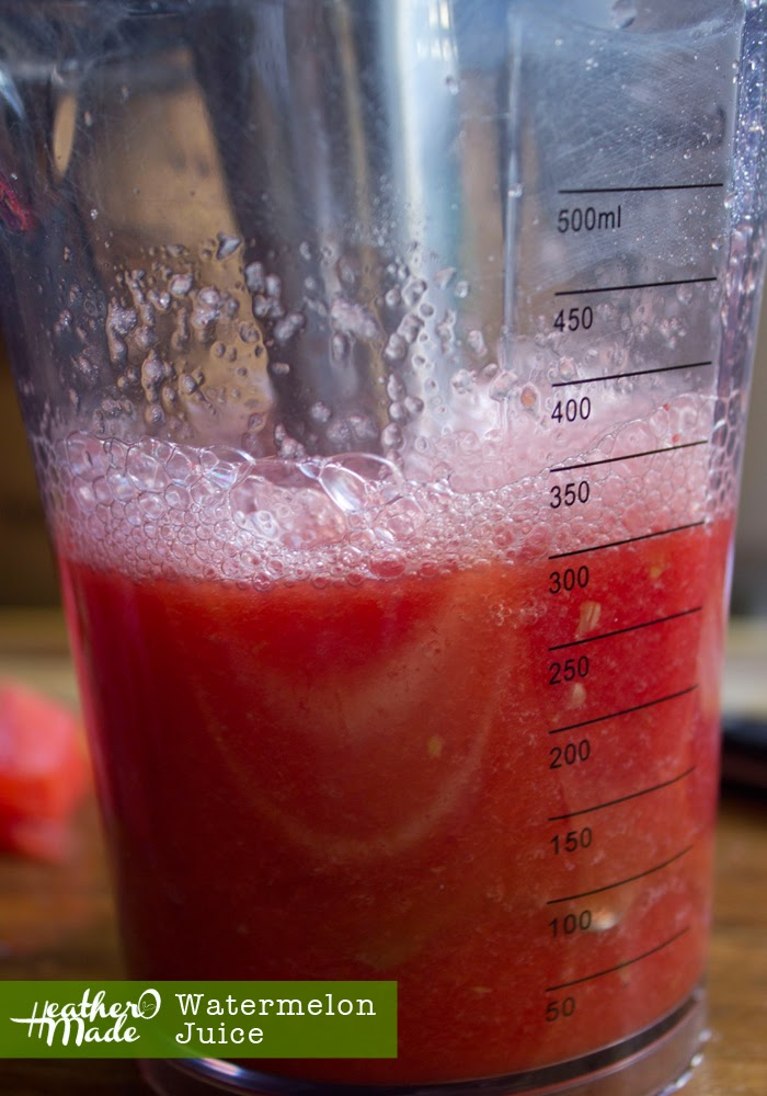 watermelon juice. just 1 ingredient.