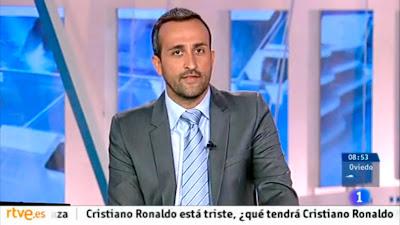Julián Reyes estuvo unos días al frente del matinal de TVE