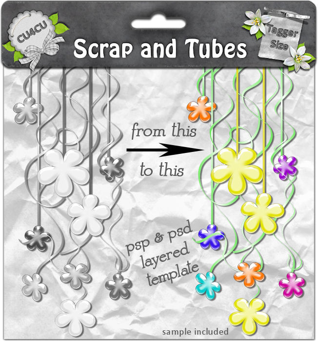 Flowers Curtain (CU4CU) .Flowers+Curtain_Preview_Scrap+and+Tubes