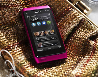 Nokia Pink N8 Symbian Anna