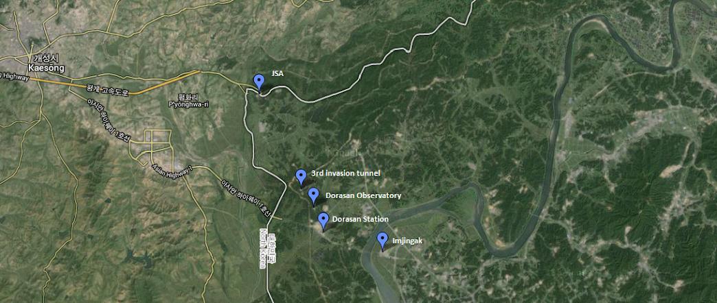 Sur La Carte Googlemap Ci Dessus Vous Trouverez Les Emplacements Et Noms Des 4 Endroits Que Nous Avons Visits Ainsi Lemplacement De JSA O