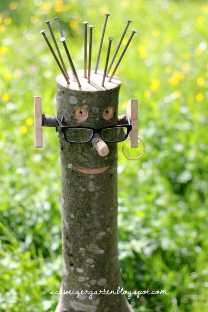 bastelideen fur gartendeko – nmmrc, Garten Ideen