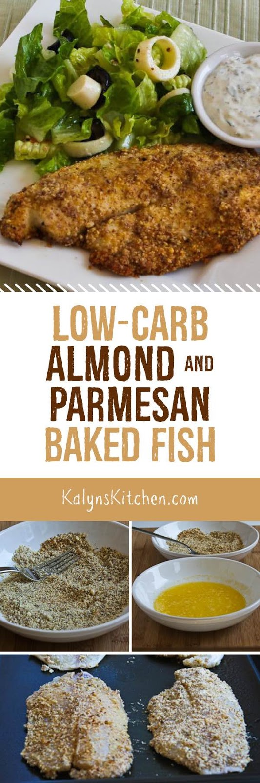 Low carb almond and parmesan baked fish kalyn 39 s kitchen for Keto fish recipes