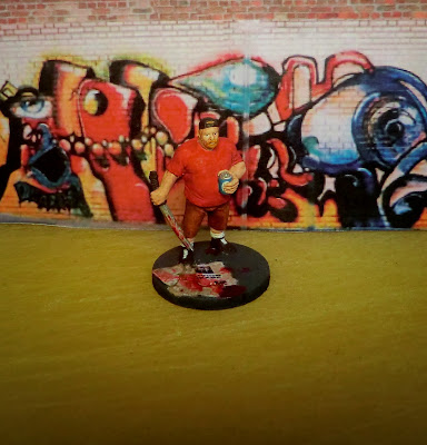 Hasslefree, Gruff, HFA069, survivor, zombie, painted, Zombicide, alternative