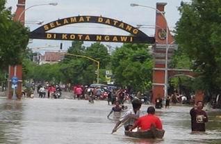 BPBD Ngawi Siapkan Tim Tanggap Bencana Banjir