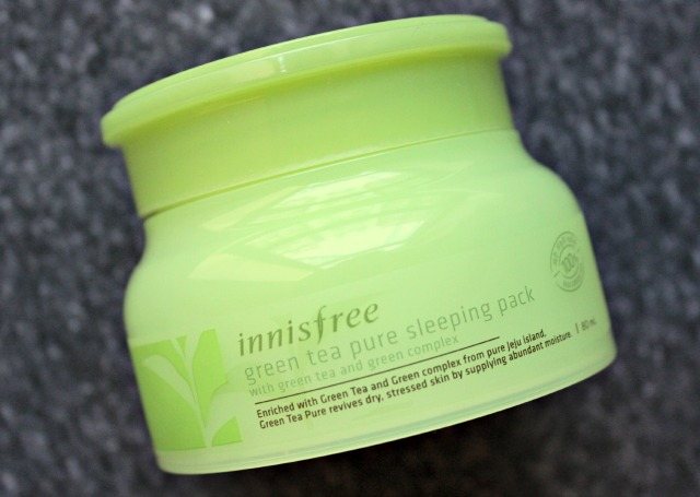 Innisfree Green Tea Pure Sleeping Pack