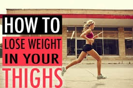How to Lose Weight on Your Thighs