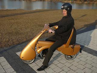 Moto eléctrica o scooter