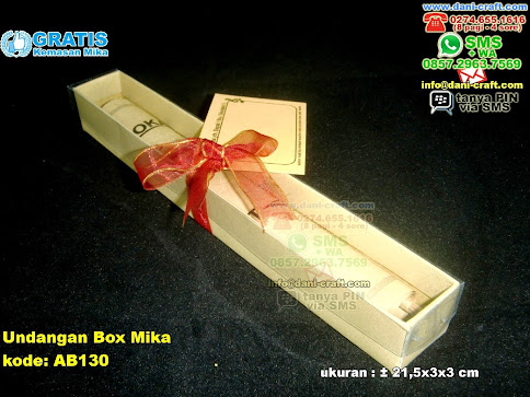 Undangan Box Mika