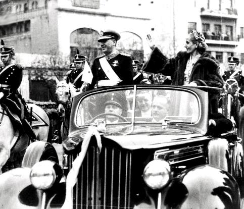 """Eva, con su voz muy debilitada, le dice a Perón: """"¿Cómo voy a"""