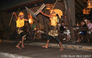 Jeeva Klui Lombok - Presean (Sasak war dance) performance
